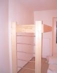 kids loft bed plus ladder bespoke wood