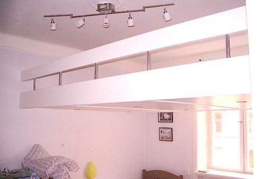 loft beds box room bespoke white