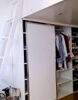 loft beds box room with storage