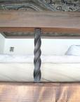 mezzanine lofts bed bespoke antique wood