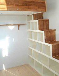 storage loft bed bespoke