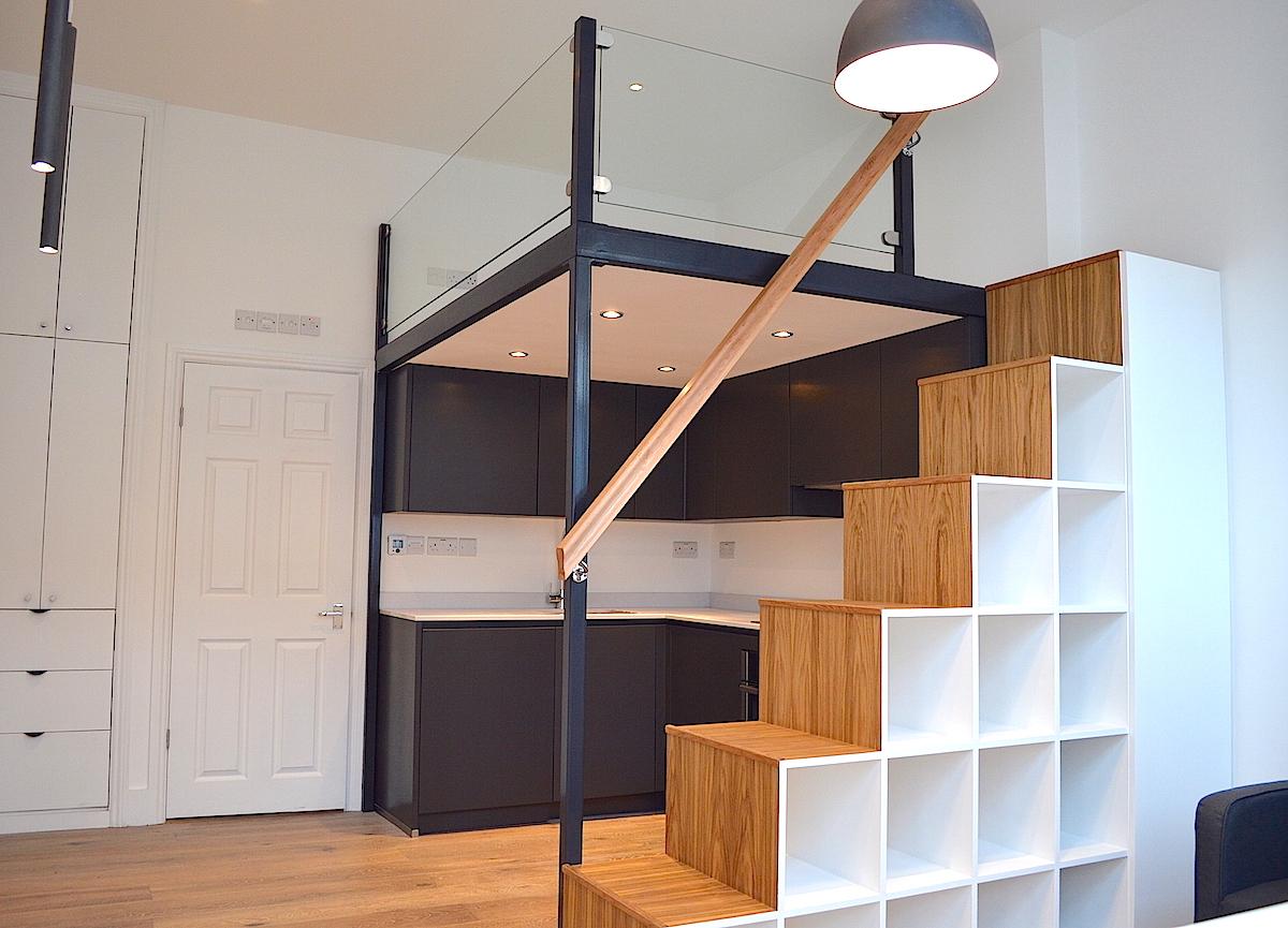 Mezzanine Loft mezzanine lofts bespoke - scandinavian loft