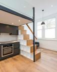 mezzanine-loft- stairs-storage-studio-flat-scandinavian-loft-clapham-london-1