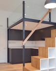 mezzanine-loft- stairs-storage-studio-flat-scandinavian-loft-clapham-london-2