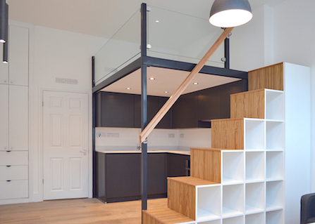 Loft Beds Storage Scandinavian Loft