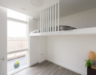 Contemporary-wall-to-wall-bespoke-mezzanine-loft-with-ladder