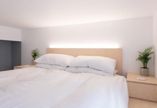 mezzanine-lofts-bespoke-stairs-storage-birch-ply-Scandinavian-loft-lights-studio-flat-london
