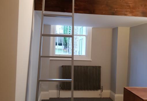 Small-double-loft-ladder-box-room-small-room-scandinavian-loft-london