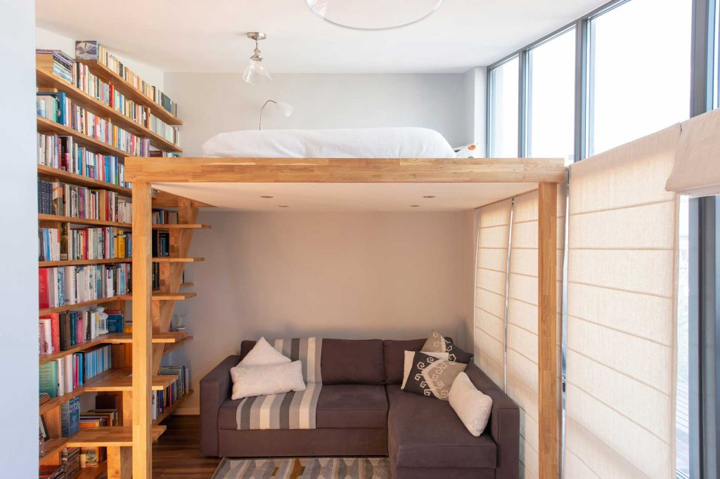 Mezzanine design and build, loft, stairs, storage, New Cross, London ...
